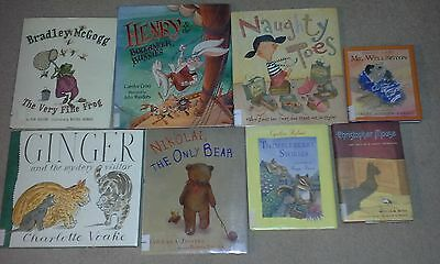8 Childrens Books- Henry and the Buccaneer Bunnies, Thimbleberry Stories,