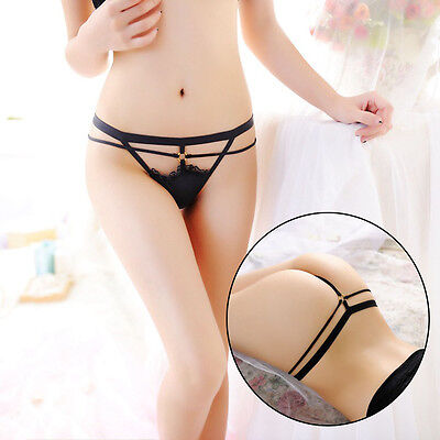 Low Waist Bandage Sexy Panties G-strings Underwear Briefs Thongs