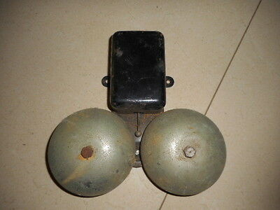 Vintage Collectable Industrial Wall Mounted Phone Ringing BELL