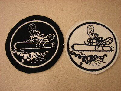 Original WW2 US Navy PT BOAT Squadron Large Version Sleeve Patch - Set of 2 Diff