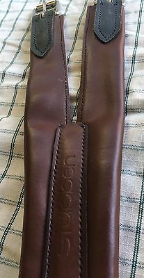 Stubben Leather Girth Havana Brown 91cm New With Tags