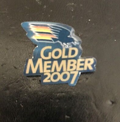 ADELAIDE CROWS GOLD MEMBER 2007 AFL Pin Badge Collectable