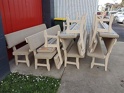 8 Ft Church Pews 7 For Sale