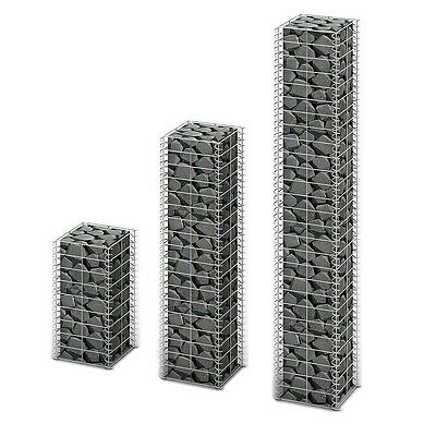3x Gabion Retaining Wall Mesh Wire Galvanized Steel Stone Baskets Cage Blocks