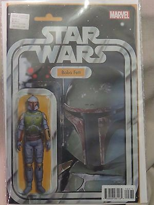 Marvel Star Wars #4 Boba Fett Action Figure Limited Variant Edition cover - MINT