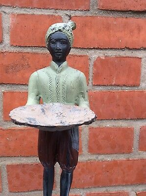 Metal Indian Turban Man Candle Holder