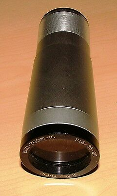 ELF EIKI f/1.6 ZOOM PROJECTOR PROJECTION LENS FOR ELF EIKI 16mm PROJECTORS