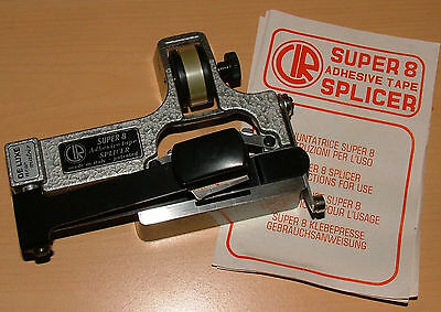 CIR CATOZZO SUPER-8mm TAPE FILM SPLICER IN VERY GOOD CONDITION & WORKING ORDER