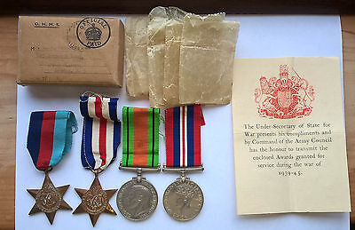 WW2 medals to RASC / ACC - 2nd World War Two medals.
