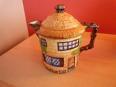 1950's Beswick Ware Ornamental Farm House Pottery Teapot - Excellent Condition