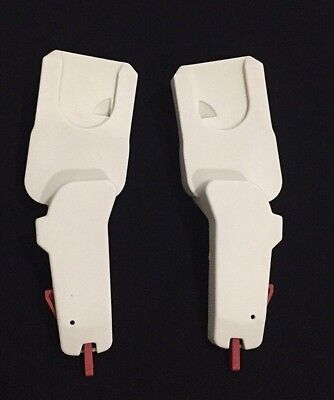 White Quinny Moodd Adapters For Maxi Cosi Car Seat