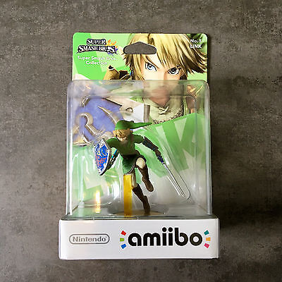 amiibo No. 5 – Super Smash Smash Bros. Collection - LINK (ULTRA RARE!!!)