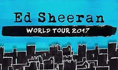 Ed Sheeran | Melbourne | 9Th March | Ga Front Standing
