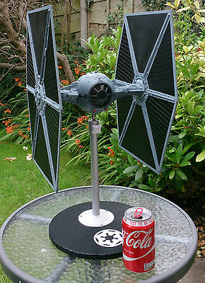 STAR WARS TIE Fighter huge Master Replica big model 38cm high with display stand