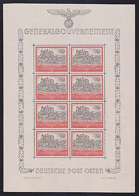 GERMANY/RUSSIA ..WWII Third Reich Occupation Generalgouvernement...  MNH...OG...