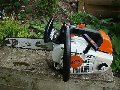 """Stihl Ms201T Petrol Top Handled Chainsaw 2012 Model 12"""" Bar And Chain"""