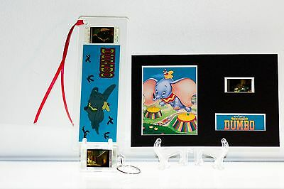 Dumbo - 3 Piece Movie Film Cell Collection Gift Set Key Ring, Bookmark