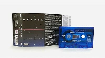 Eminem Infinite Re Issue Limited Numbered Blue Cassette Tape Rare