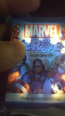 Woolworths Marvel Heroes Super Disc #24 BLACK PANTHER Unopened still in packet!