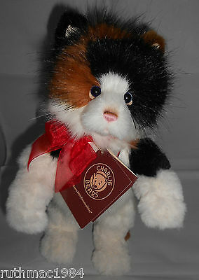 Charlie Bears PAWLINE the Plush Cat ~ a QVC Exclusive 2017 by Isabelle Lee ~ NEW