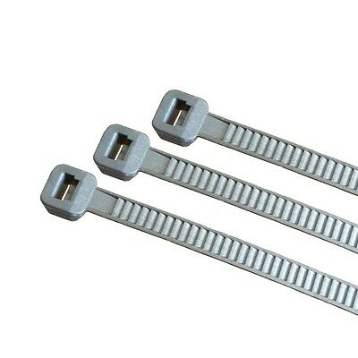 100 x Cable Ties 3, 6X140Mm Silver