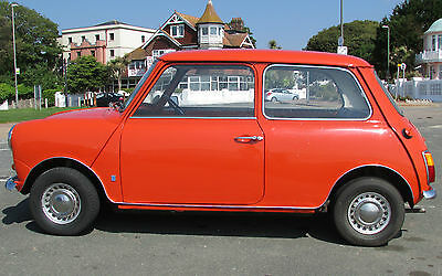Mini 1000 Mark III Mk3 Classic 1973 Austin