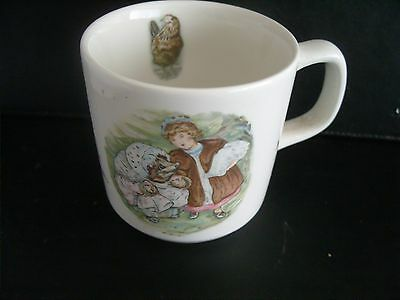 Wedgwood Mrs Tiggy-Winkle nursery child's mug Beatrix Potter-Frederick Warne
