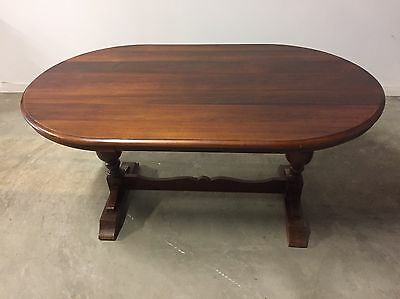 Antique Blackwood Dining Table
