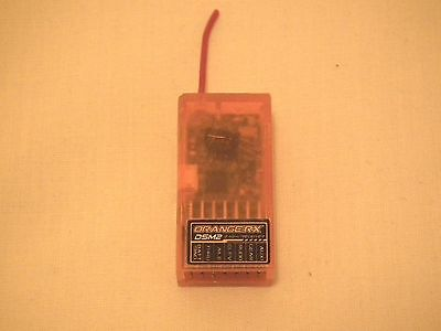 Orange 6 Channel 2.4 Ghz Dsm2 Receiver In Full Working Order.