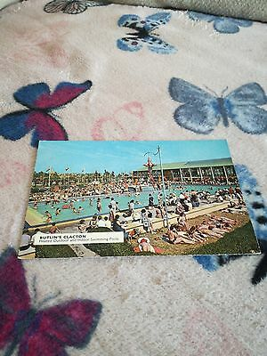 Used Butlins Clacton C7 heated outdoor and indoor swimming pools