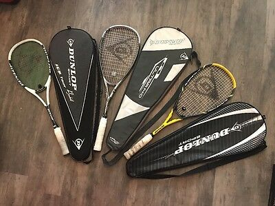 Dunlop Blackstorm Squash Racket Sport And Two More