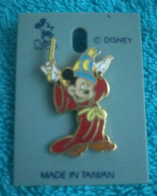 Disney Mickey Mouse Sorcerer's Apprentice Fantasia Pin Badge - Collectible