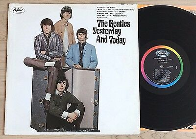 BEATLES Yesterday And Today BUTCHER COVER 2nd State 1966 CAPITOL T-2553 NM