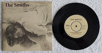 """Rt 136 The Smiths """"this Charming Man""""b/w""""jeane"""" Uk Rough Trade Orig 7""""1983 Ex/ex"""