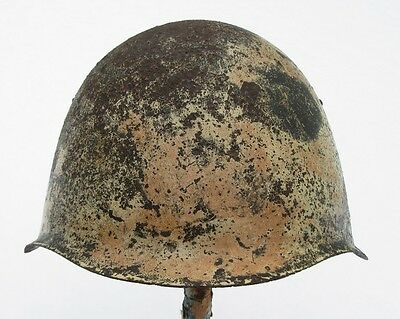 Rare Russian Helmet Mod.39 Winter Camo Stalingrad December 1942
