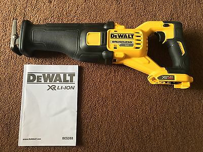 Dewalt 54volt flexvolt reciprocating saw dcs388
