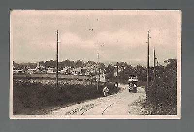 WATERLOOVILLE FROM MILL HILL Hampshire   early posted card  see scans