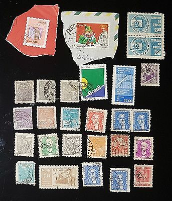 Brazil Mixed Used Stamps (No1038)