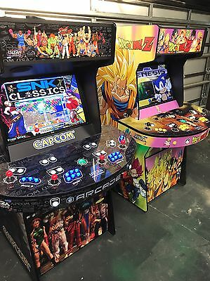 Monster Arcade machines!!!   4 Players With 2TB Hyperspin  30,000+ Games!!