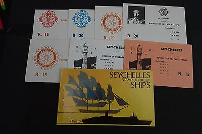 Seychelles 19 1981 Stamp Booklets 10 Mnh