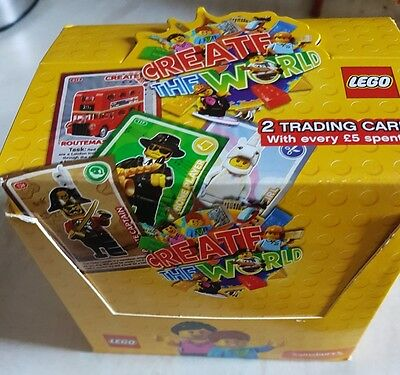 Lego Create The World Trading Cards Box