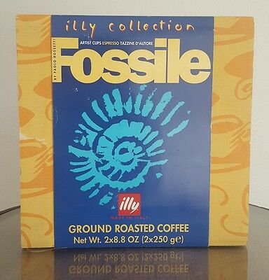 "illy collection 1997 Espresso Paolo Rossetti - Fossile """" New """""
