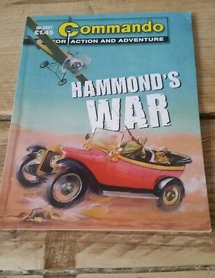 Commando Comic - No 4337 Hammond's War - War Collectable