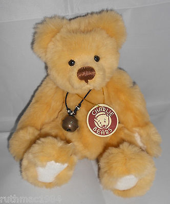 Charlie Bears RYAN ~ by Isabelle Lee 2007 ~ ONLY 630 Made ~ Super Rare and VHTF!