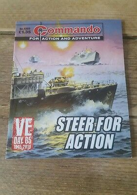Commando Comic - No 4303 Steer For Action - War Collectable