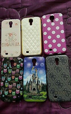 Joblot bundle samsung s4 phone cases disney guess owl spotty padded