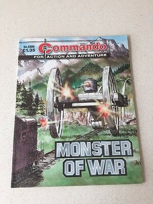 Commando Comic - No 4305 Monster Of War - War Collectable