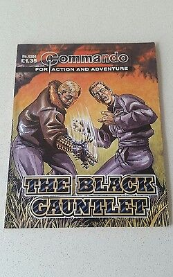 Commando Comic - No 4304 The Black Gauntlet  - War Collectable