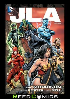 JLA VOLUME 2 GRAPHIC NOVEL Collects (1997) #10-17 JUSTICE LEAGUE OF AMERICA