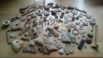 Metal Detecting Finds, Medevil/ Roman and Fossils.